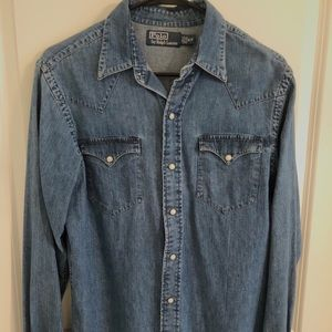 Polo Ralph Lauren Denim/Chambre Shirt
